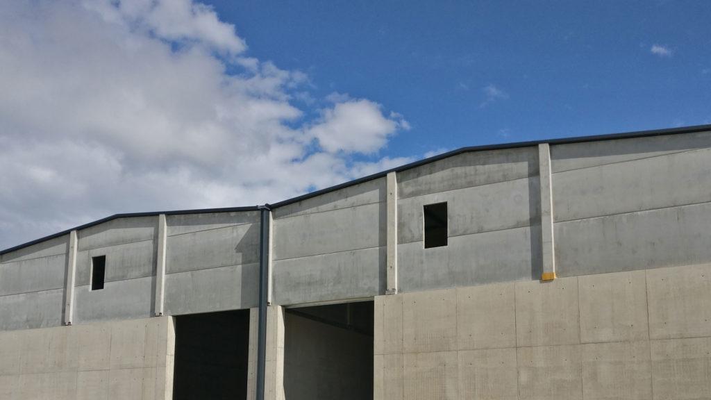 Nave industrial de Forestalia Renovables. Foto: Fabián Simón