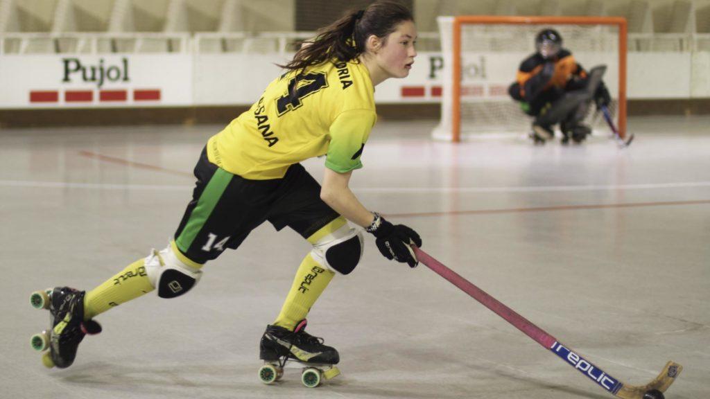 Una de las jugadoras del Vila-Sana