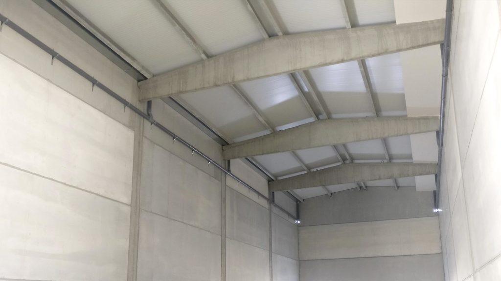Interior de la nueva nave industrial de Jorge Pork