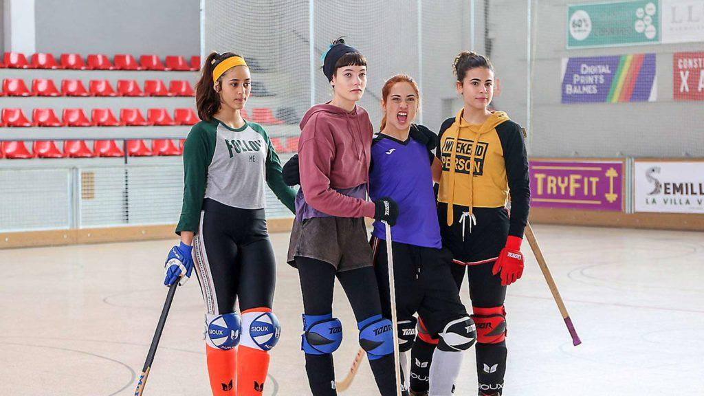 Algunes de les protagonistes de la sèrie | Foto: TV3
