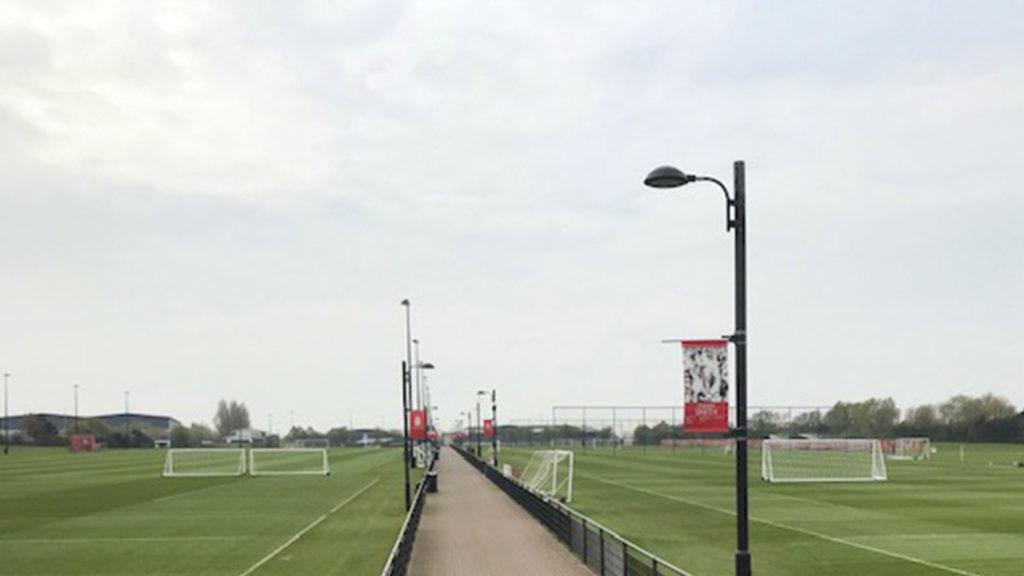 Campo de entrenamiento del Liverpool FC