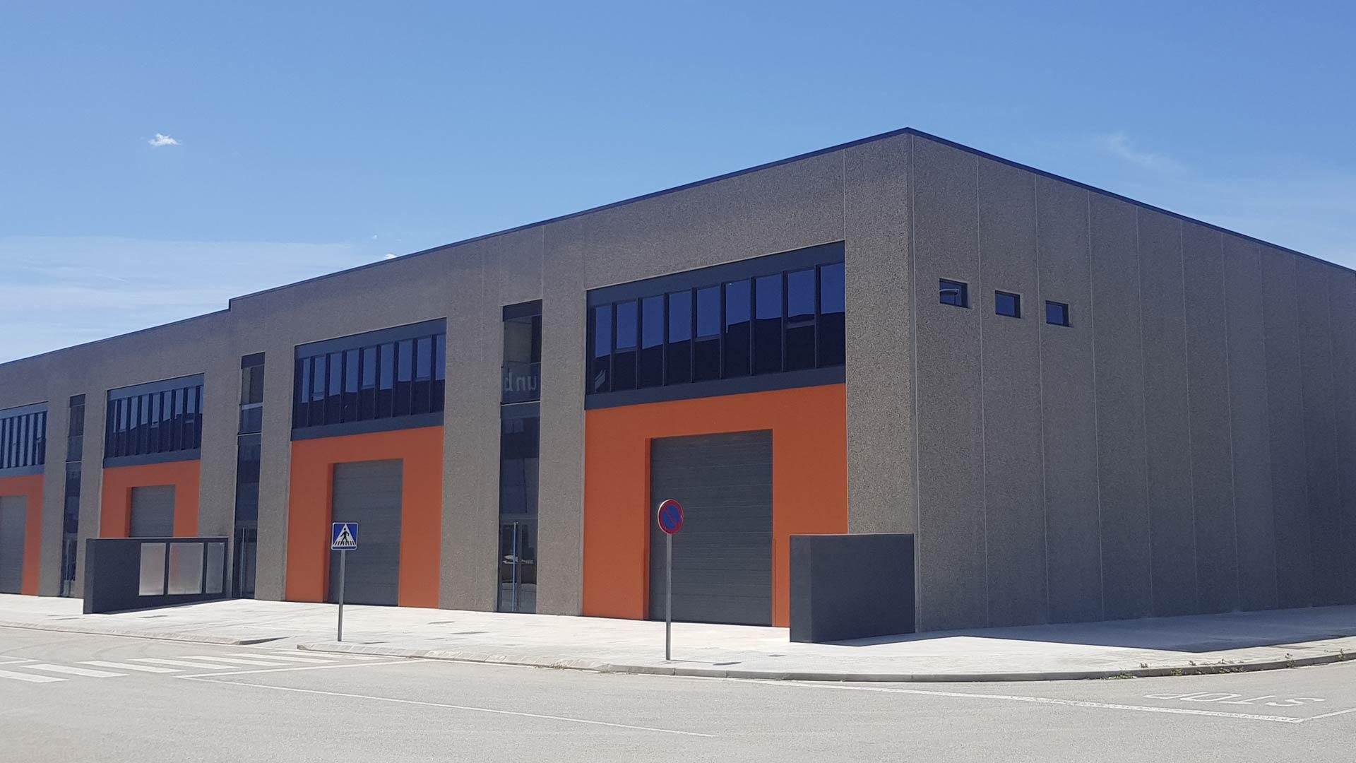 El complejo de naves industriales en La Garriga