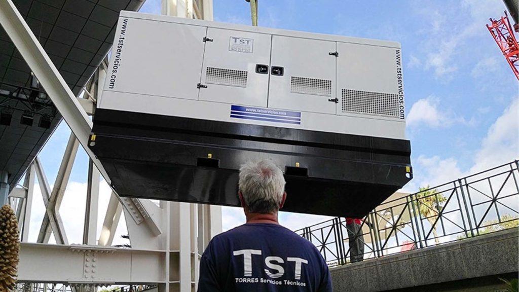 Imagen de una instalación de TST