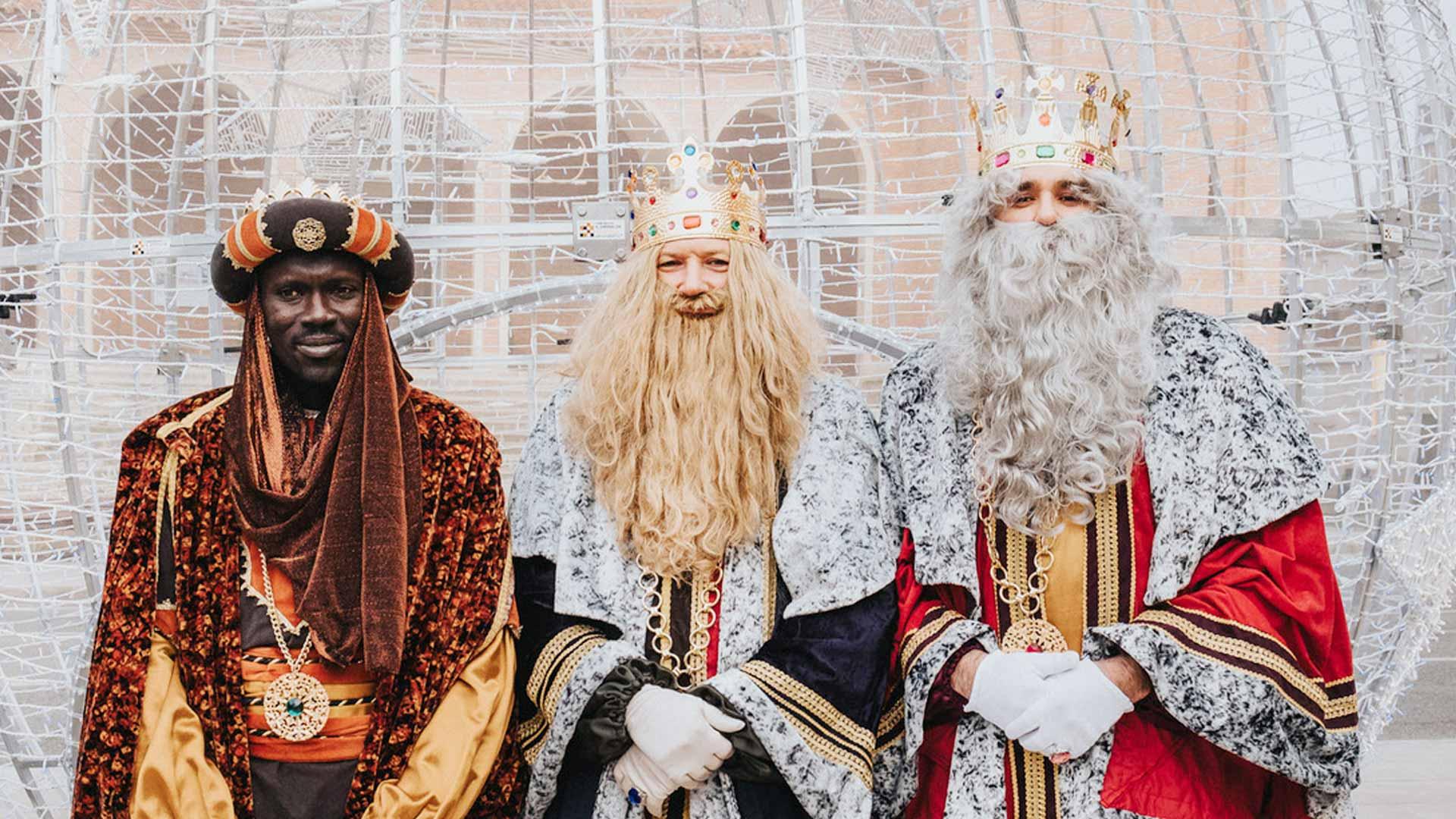 Los tres Reyes de Oriente