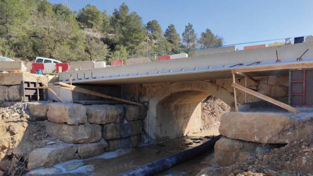 Rehabilitació del pont. Foto: ACN