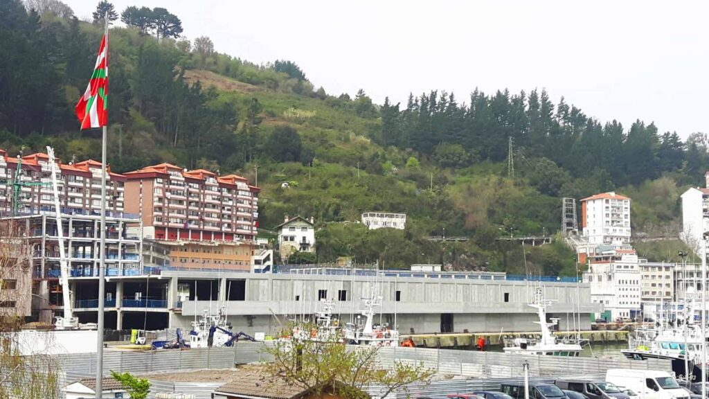 Una de nuestras obras de prefabricado en Euskadi