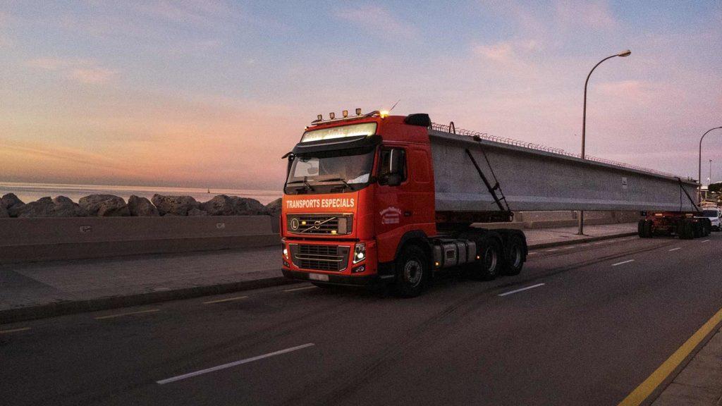 Transport especial de Pujol a Palma de Mallorca