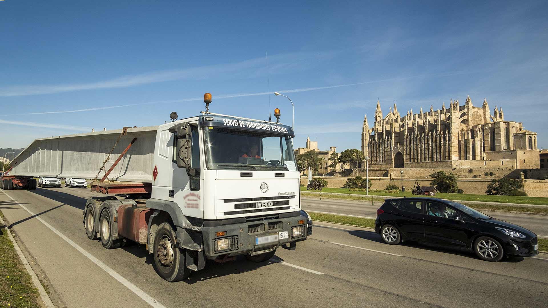 Transporte especial de Pujol en Palma de Mallorca