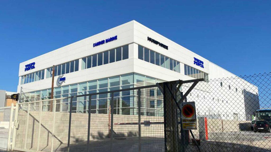 Nau industrial de Camber Marine a Palma de Mallorca