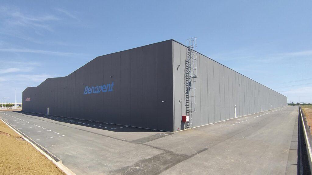 Nau industrial de Corberó-Benavent a Sagunt