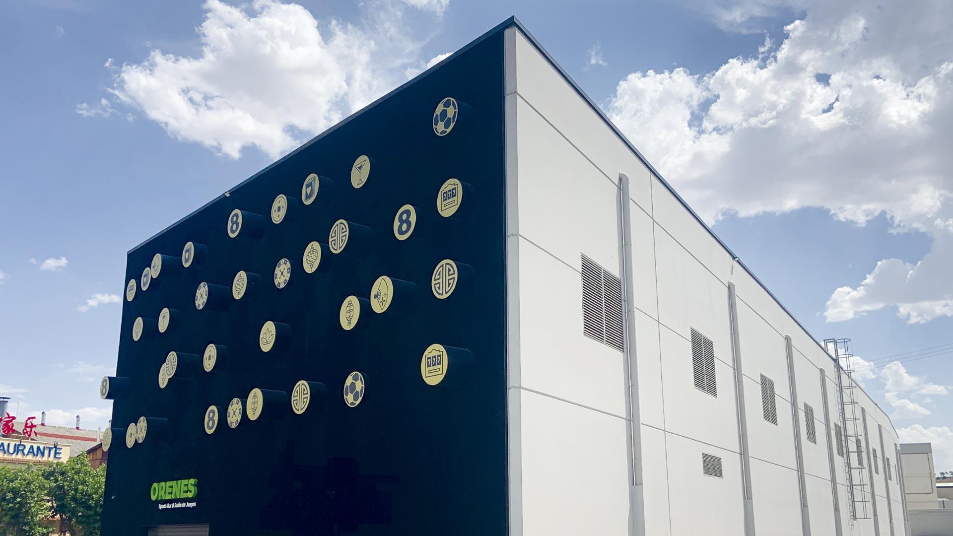 Nave industrial de Pujol para Orenes en Fuenlabrada (Madrid)