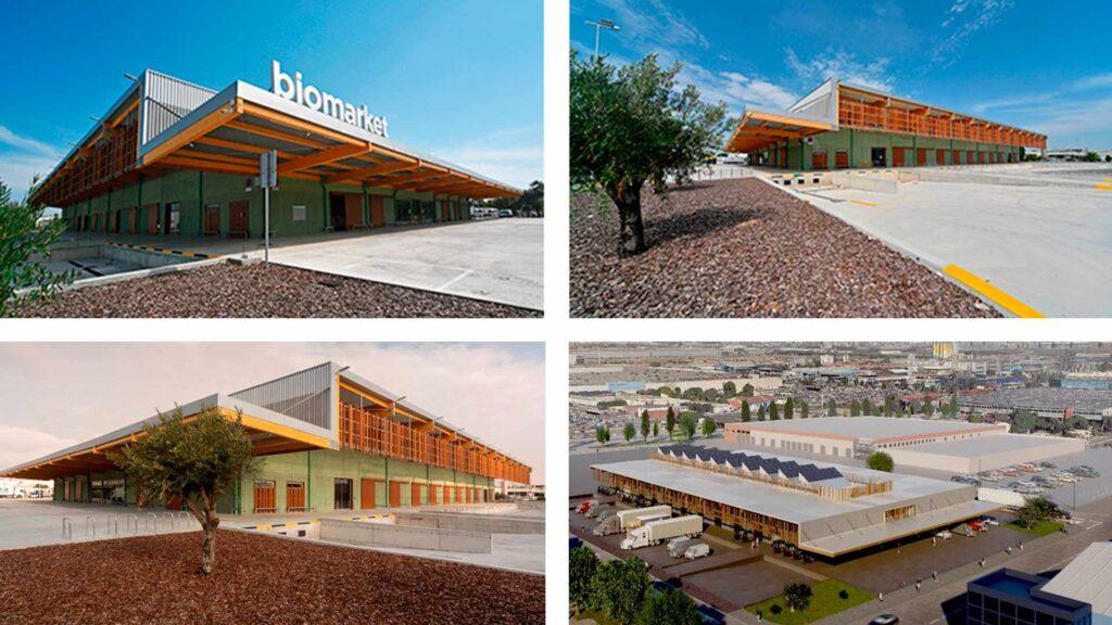 Imágenes y render de Biomarket