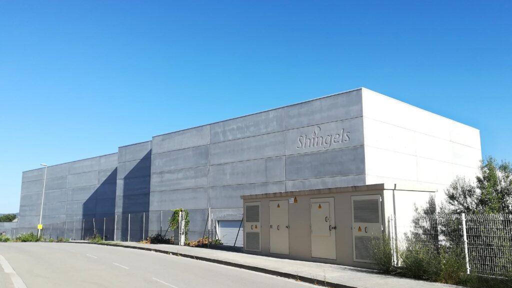 Nave industrial de Shingels