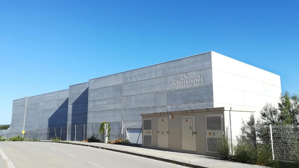 Nau industrial de Shingels