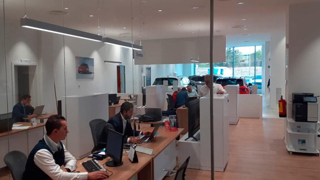 Nave industrial Volkswagen (oficinas)