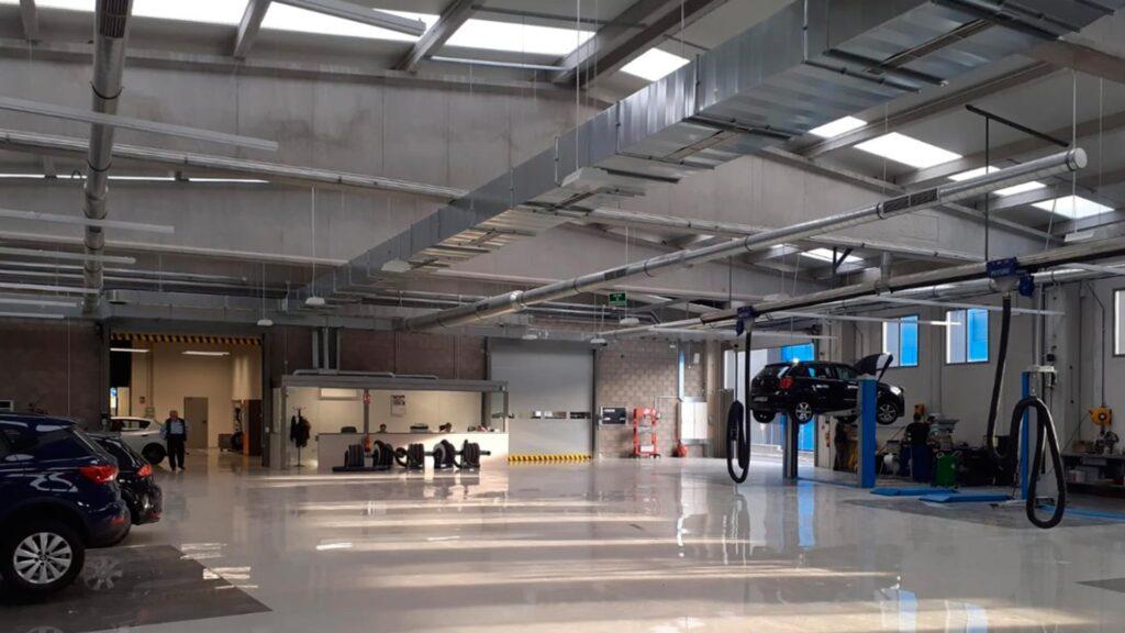Nave industrial Volkswagen (taller)