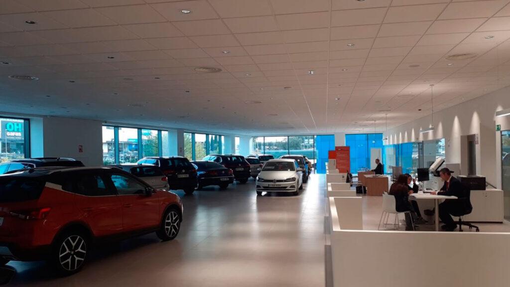 Nave industrial Volkswagen (ventas)