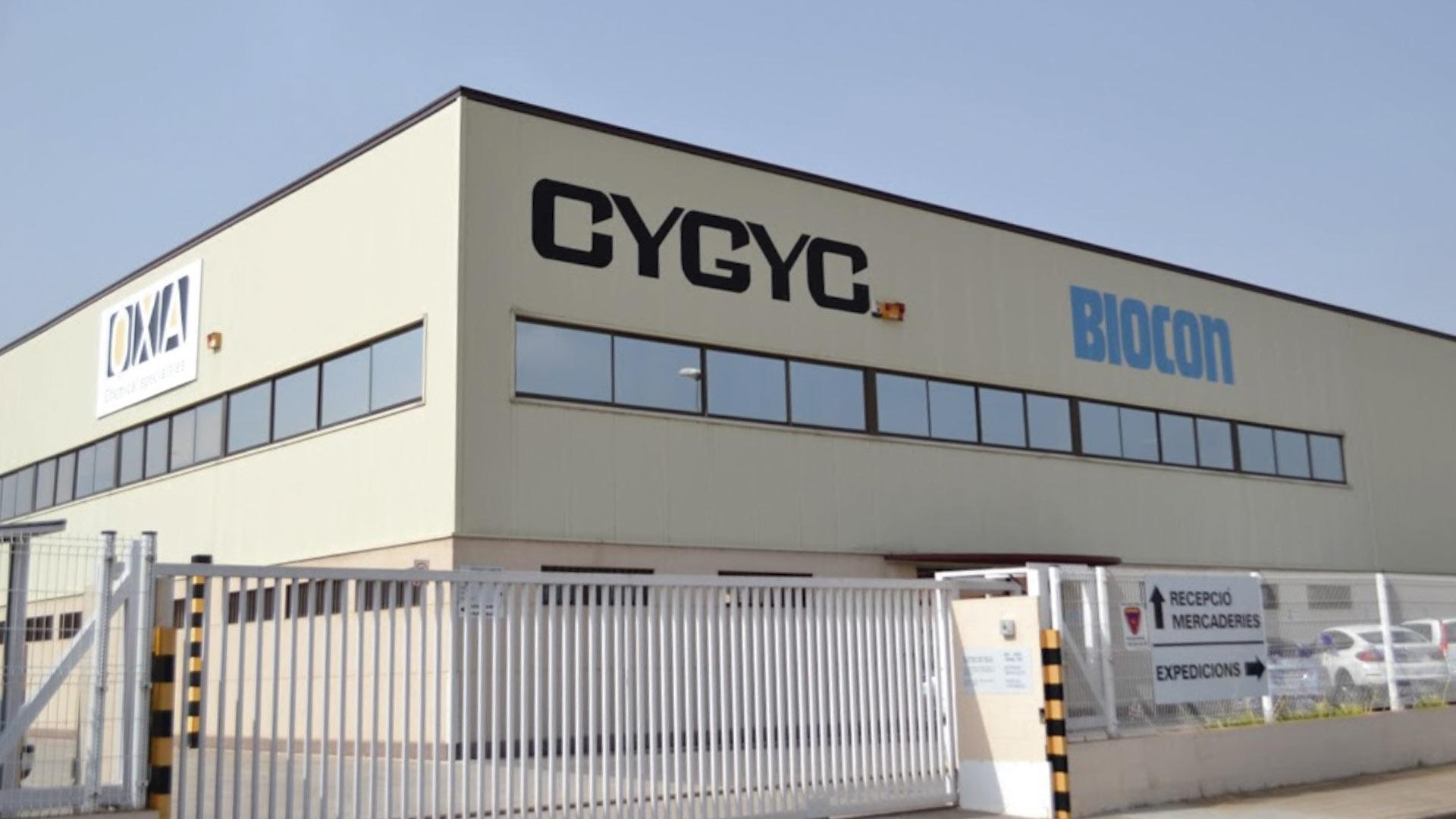 Nave industrial prefabricada de Cygyc