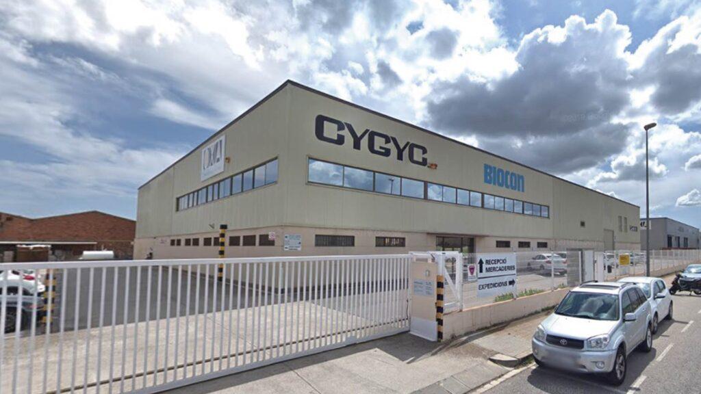 Nau industrial prefabricada de Cygyc