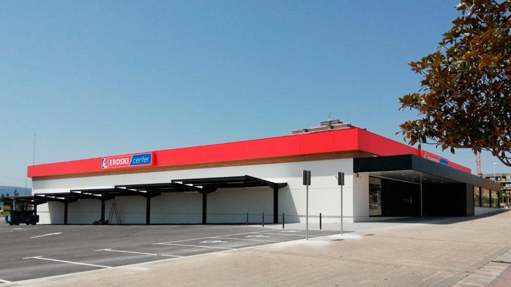 Supermercat EROSKI a Navarra