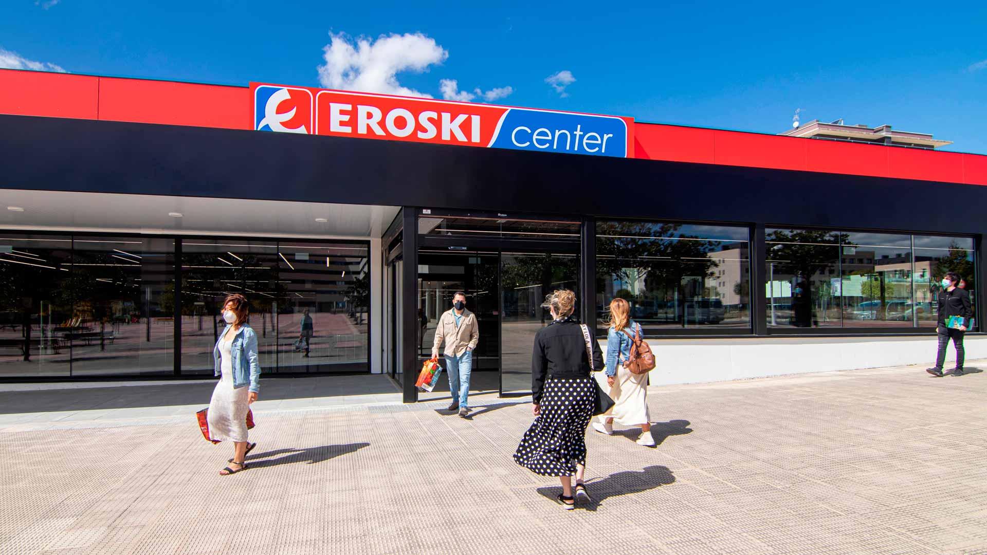 Supermercado EROSKI en Navarra