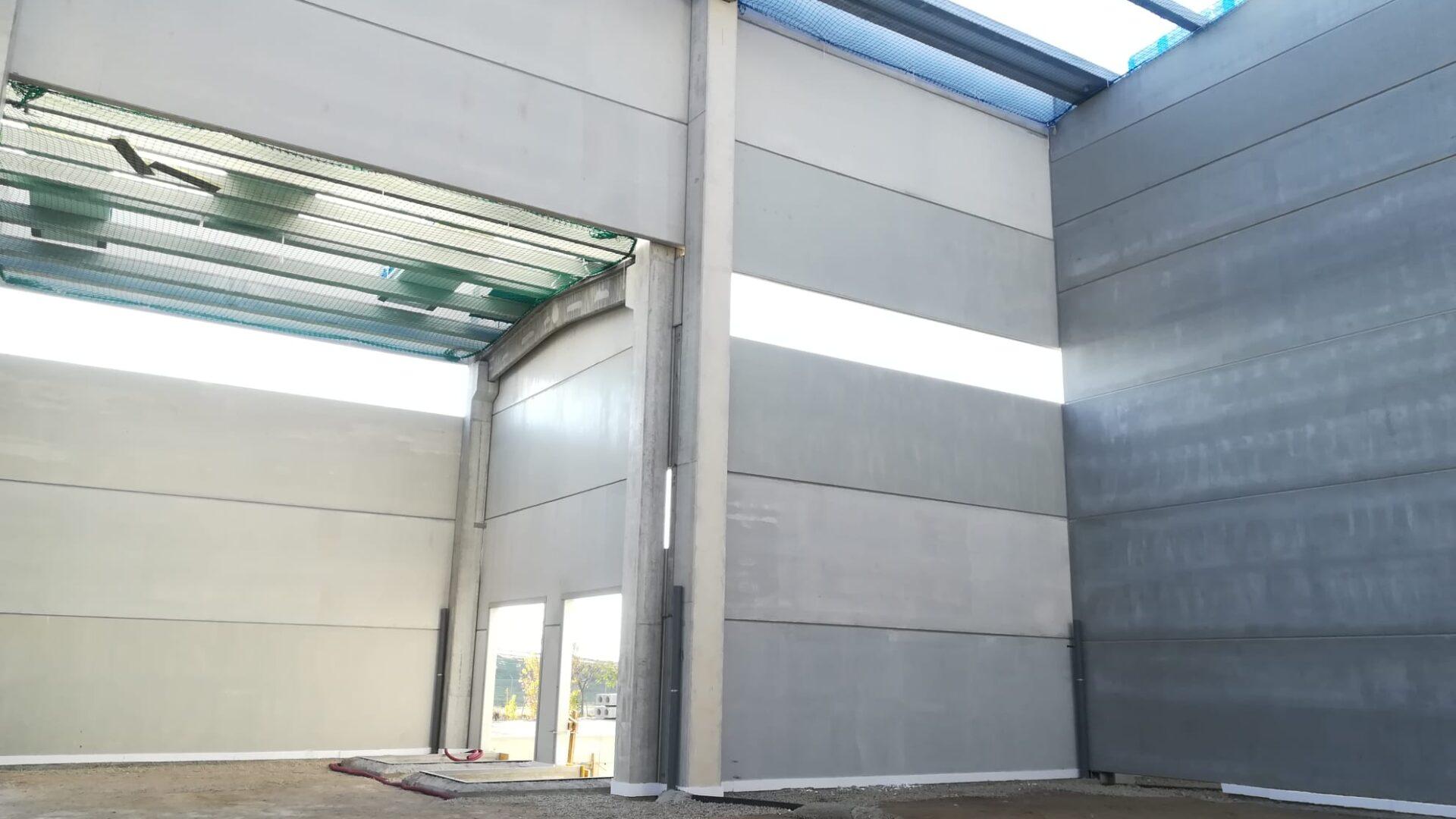 Transambiental - Under construction, internal view