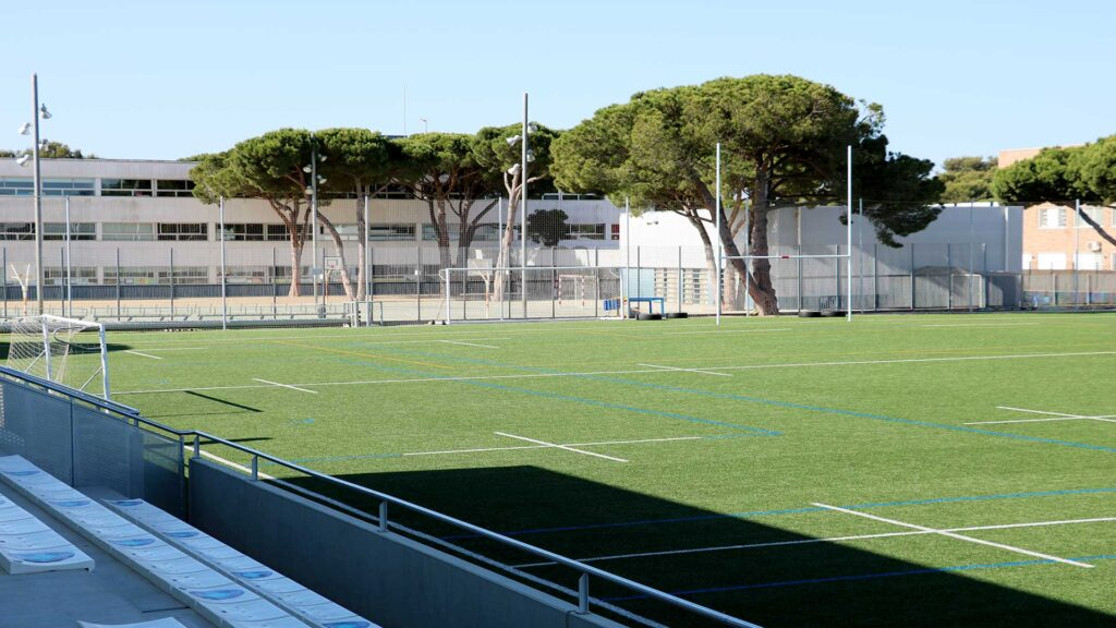 Campo rugby en The British School of Barcelona (Castelldefels - BCN)